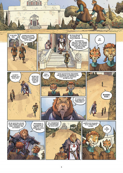 Page 3 Les 5 terres tome 3 + ex-libris offert