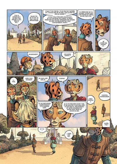 Page 4 Les 5 terres tome 3 + ex-libris offert