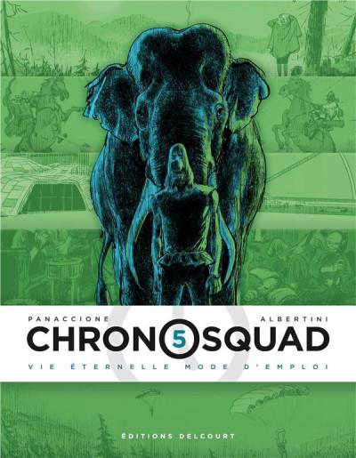 Couverture Chronosquad tome 5