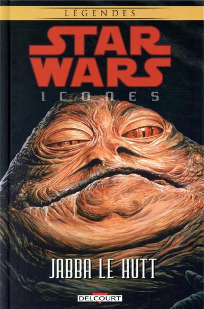 Couverture Star wars - Icones tome 10 - Jabba le Hutt