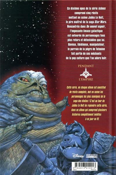 Dos Star wars - Icones tome 10 - Jabba le Hutt