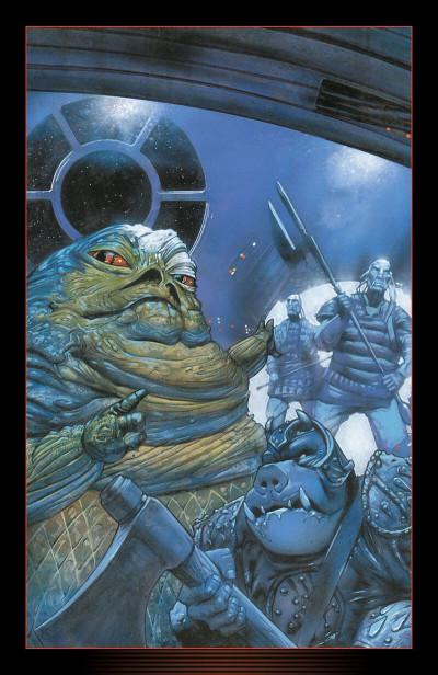 Page 2 Star wars - Icones tome 10 - Jabba le Hutt