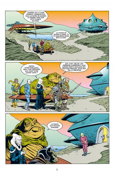 Page 5 Star wars - Icones tome 10 - Jabba le Hutt