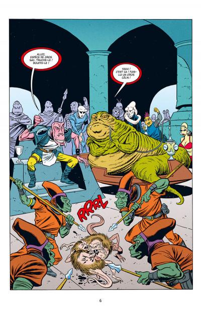 Page 6 Star wars - Icones tome 10 - Jabba le Hutt