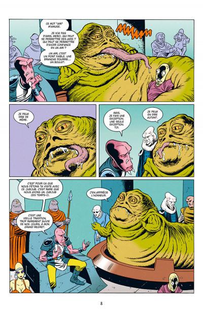 Page 8 Star wars - Icones tome 10 - Jabba le Hutt