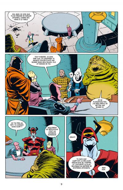 Page 9 Star wars - Icones tome 10 - Jabba le Hutt