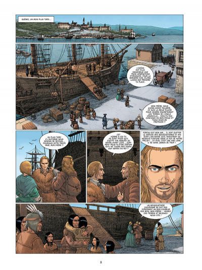 Page 8 Mousquetaire tome 4