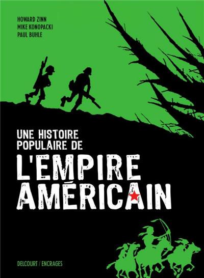 Couverture Une histoire populaire de l'empire américian