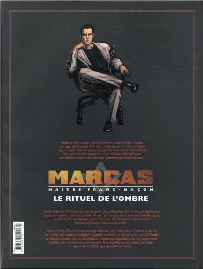 Dos Marcas, maître franc-maçon - Le rituel de l'ombre - intégrale