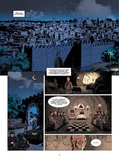 Page 6 Marcas, maître franc-maçon - Le rituel de l'ombre - intégrale