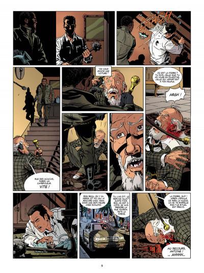 Page 9 Marcas, maître franc-maçon - Le rituel de l'ombre - intégrale