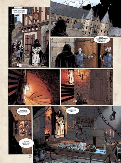 Page 2 Marcas, maître franc-maçon - Le frère de sang - intégrale