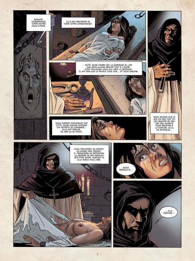 Page 3 Marcas, maître franc-maçon - Le frère de sang - intégrale