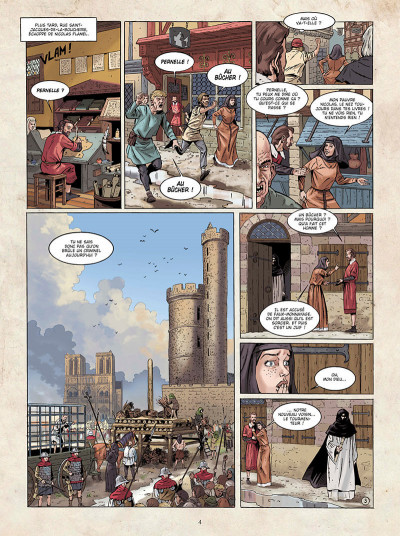 Page 4 Marcas, maître franc-maçon - Le frère de sang - intégrale
