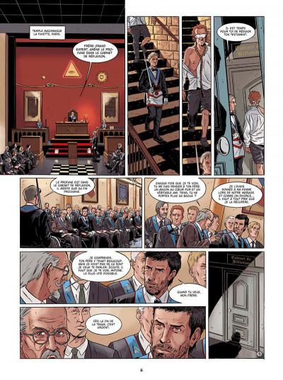 Page 6 Marcas, maître franc-maçon - Le frère de sang - intégrale