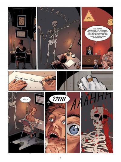 Page 7 Marcas, maître franc-maçon - Le frère de sang - intégrale