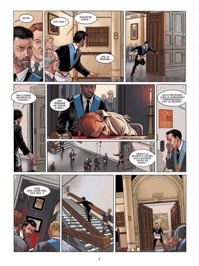 Page 8 Marcas, maître franc-maçon - Le frère de sang - intégrale