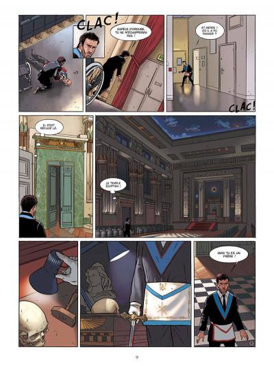 Page 9 Marcas, maître franc-maçon - Le frère de sang - intégrale