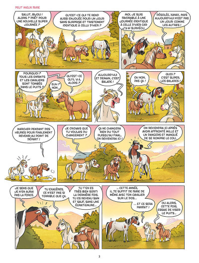 Page 1 À cheval ! tome 5