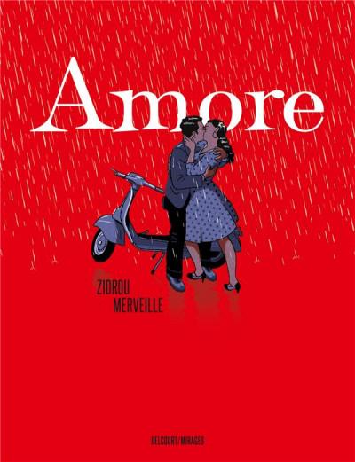 Couverture Amore + ex-libris offert
