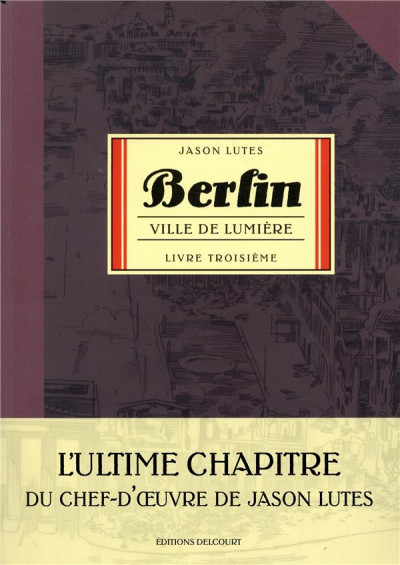 Couverture Berlin (Lutes) tome 3