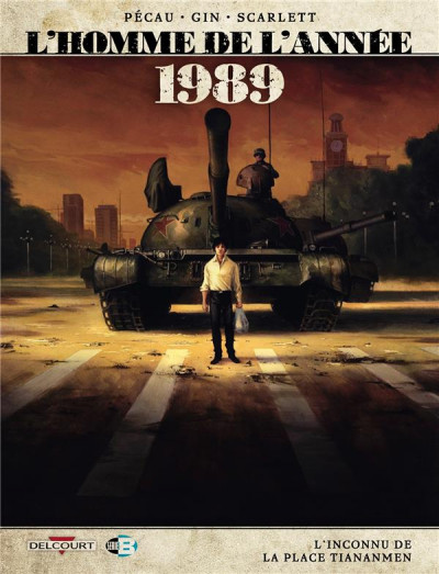 Couverture L'homme de l'année tome 16 - 1989