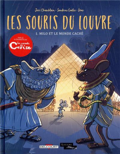 Couverture Les souris du Louvre tome 1