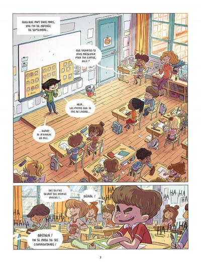 Page 1 Les souris du Louvre tome 1