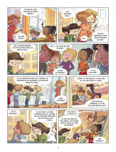 Page 2 Les souris du Louvre tome 1