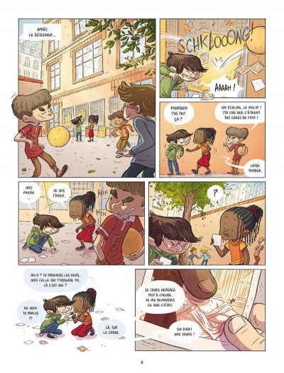 Page 4 Les souris du Louvre tome 1