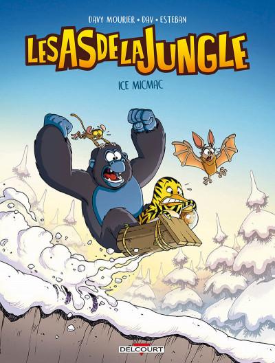 Couverture Les as de la jungle tome 2