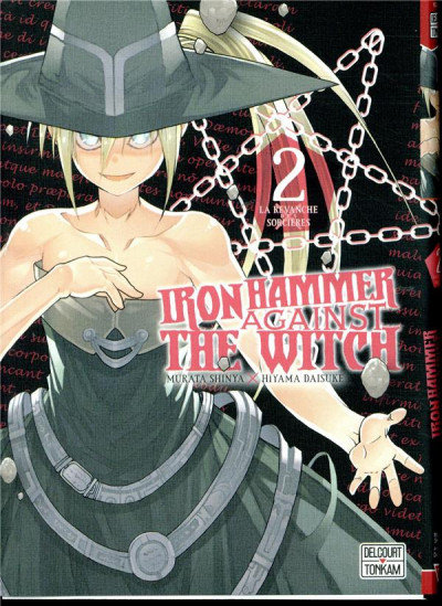 Couverture Iron Hammer against the witch tome 2
