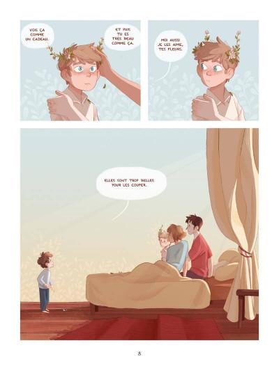 Page 9 Les fleurs de grand frère