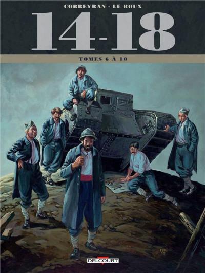 Couverture 14-18 -  coffret tomes 6 à 10