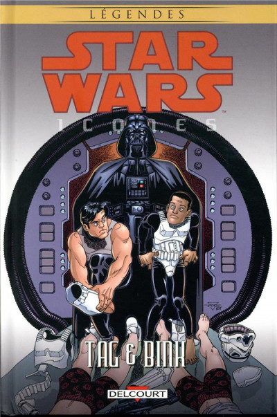 Couverture Star Wars - Icones tome 7 - Tag & Binks
