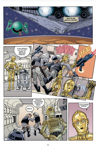 Page 1 Star Wars - Icones tome 7 - Tag & Binks