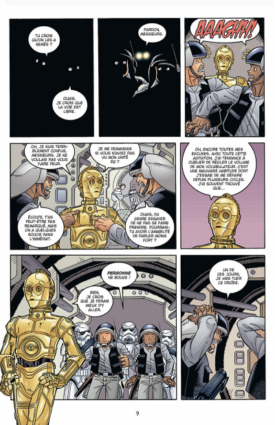 Page 4 Star Wars - Icones tome 7 - Tag & Binks