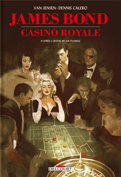 Couverture James Bond - Casino royale