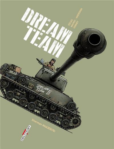 Couverture Dream team