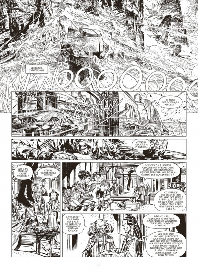 Page 1 La horde du contrevent tome 2 (édition noir & blanc)
