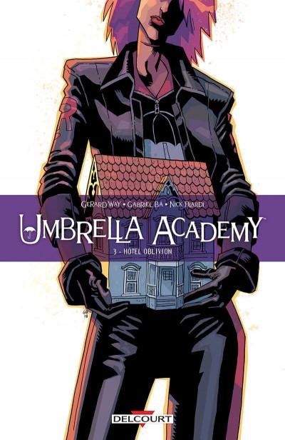 Couverture Umbrella academy tome 3 + ex-libris offert