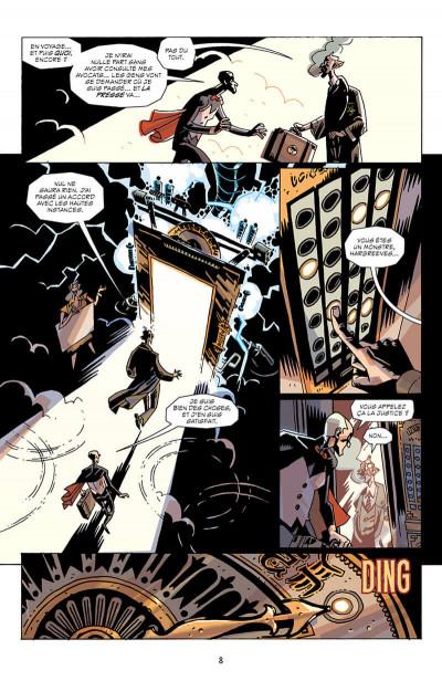 Page 8 Umbrella academy tome 3 + ex-libris offert