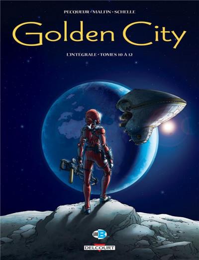 Couverture Golden City - intégrale tome 4 - Tomes 10 à 12