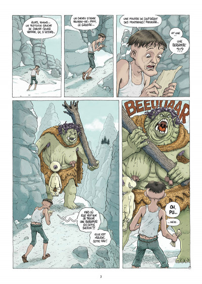 Page 1 Traquemage tome 3
