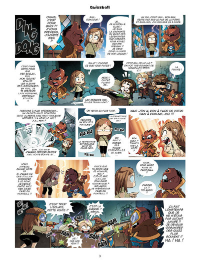 Page 3 Les légendaires - parodia tome 5