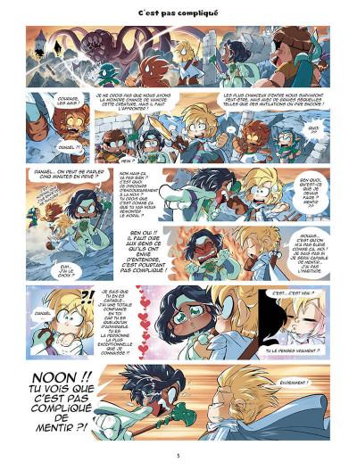 Page 5 Les légendaires - parodia tome 5