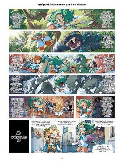 Page 6 Les légendaires - parodia tome 5