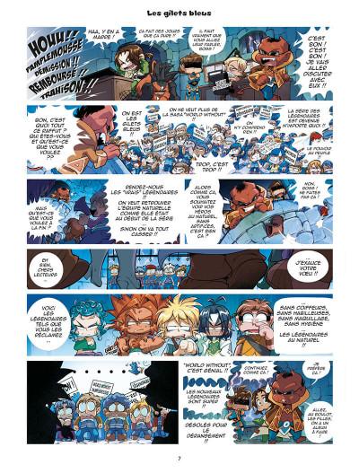 Page 7 Les légendaires - parodia tome 5