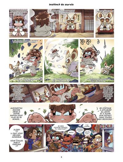 Page 8 Les légendaires - parodia tome 5