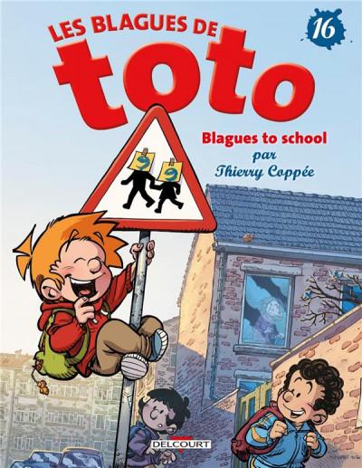 Couverture Les blagues de Toto tome 16